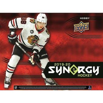 2019/20 Upper Deck Synergy Hockey Hobby Box (Presell)