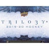 2019/20 Upper Deck Trilogy Hockey Hobby 10-Box Case (Presell)