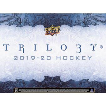 2019/20 Upper Deck Trilogy Hockey Hobby Box (Presell)