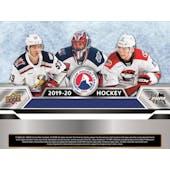 2019/20 Upper Deck AHL Hockey Hobby 12-Box Case (Presell)
