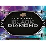 2019/20 Upper Deck Black Diamond Hockey Hobby 5-Box Case (Presell)