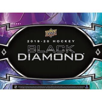 2019/20 Upper Deck Black Diamond Hockey Hobby Box (Presell)