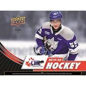 2019/20 Upper Deck CHL Hockey Hobby 20-Box Case (Presell)