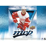 2019/20 Upper Deck MVP Hockey Factory Set (Box) Case (20Ct.) (Presell)