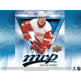 2019/20 Upper Deck MVP Hockey Factory Set (Box) Case (20Ct.) (Presell)