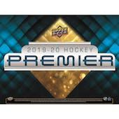2019/20 Upper Deck Premier Hockey Hobby 10-Box Case (Presell)