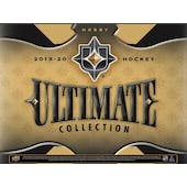 2019/20 Upper Deck Ultimate Collection Hockey Hobby 16-Box Case (Presell)