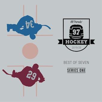 2019/20 Hit Parade Autographed Hockey Jersey BEST OF 7 Hobby Box - Series 1 - MCDAVID & GRETZKY!!!