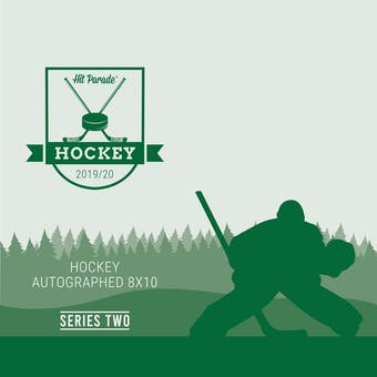 2019/20 Hit Parade Autographed Hockey 8x10 Photo - Series 2 - Hobby Box Connor McDavid & Bobby Orr!
