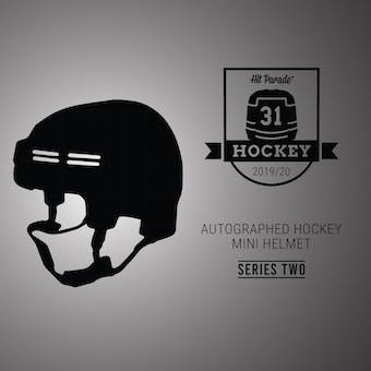 2019/20 Hit Parade Auto Hockey Mini Helmet 1-Box Series 2- DACW Live 4 Spot Random Division Break #8