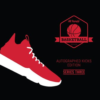 "2019/20 Hit Parade Autographed Basketball ""KICKS"" Hobby Box - Series 3 - Michael Jordan UDA!!!"