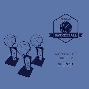 2019/20 Hit Parade Autographed THREE PEAT Basketball Hobby Box - Series 6 - Luka, Ja Morant & Tim Duncan!!!