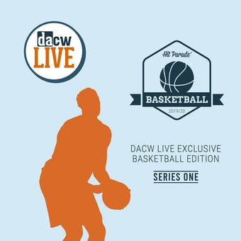 2020 Hit Parade DACW Live Exclusive Basketball 1-Box- DACW Live 6 Spot Random Division Break #28