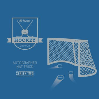 2019/20 Hit Parade Autographed HAT TRICK Series 2 Hockey 1-Box - DACW Live 31 Spot Random Team Break #7