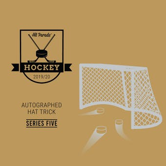 2019/20 Hit Parade Autographed HAT TRICK Hockey Hobby Box - Series 5 Crosby, McDavid, Jagr & Yzerman!!