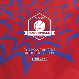 2019/20 Hit Parade 2019 Mosaic Reactive Basketball Ed Ser 1- 3-Box- DACW Live 6 Spot Random Division Break #3