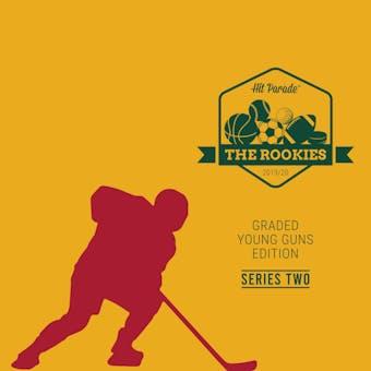 19/20 Hit Parade The Rookies Graded Young Gun Ed Ser 2 - Case- DACW Live 31 Spot Random Team Break #1