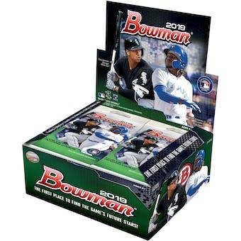 2019 Bowman Baseball 24-Pack Box