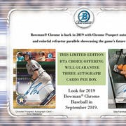 2019 Bowman Chrome Baseball HTA Choice 12-Box Case- DACW Live 36 Spot Random Hit Break #1