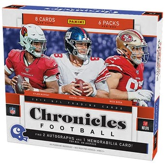2019 Panini Chronicles Football Hobby 4-Box- DACW Live 8 Spot Random Division Break #2