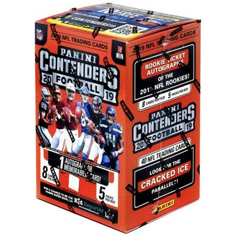 2019 Panini Contenders Football 5-Pack Blaster Box
