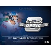 2019 Panini Contenders Optic Football Hobby Box (Presell)