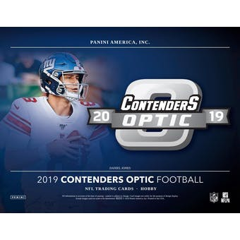 2019 Panini Contenders Optic Football Hobby 20-Box Case (Presell)