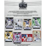 2019 Leaf Metal Draft Baseball Hobby 12-Box Case (Presell)