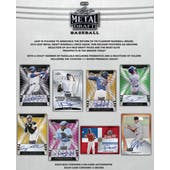 2019 Leaf Metal Draft Baseball Hobby 12-Box Case (Presell)