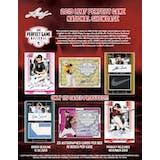 2019 Leaf Perfect Game National Showcase Baseball Hobby 15-Box Case (Presell)