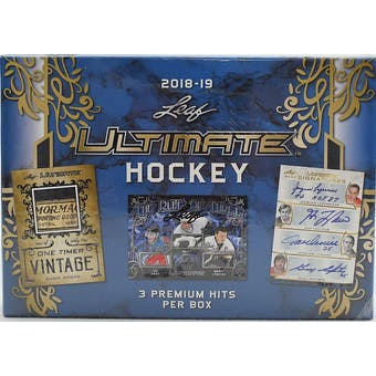 2018/19 Leaf Ultimate Hockey Hobby Box