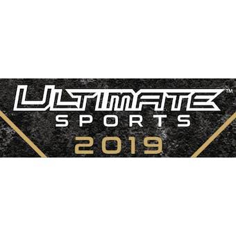2019 Leaf Ultimate Sports 10-Box Case- DACW Live 30 Spot Random Hit Break #1