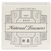 2019 Panini National Treasures 1st Off The Line Football Hobby Box