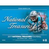2019 Panini National Treasures Football Hobby 4-Box Case (Presell)