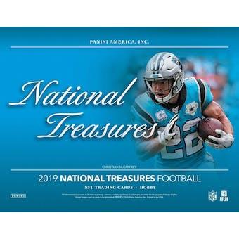 2019 Panini National Treasures Football Hobby Box (Presell)