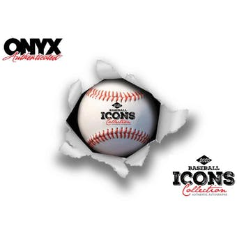 2020 Onyx Icons Baseball Legends Hobby Box