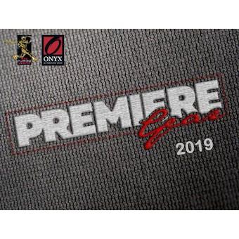 2019 Onyx Premiere Gear Baseball Hobby Box