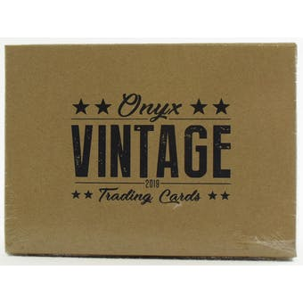 2019 Onyx Vintage Baseball Hobby Box