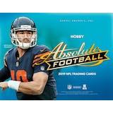 2019 Panini Absolute Football Hobby 12-Box Case (Presell)