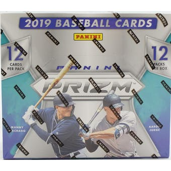 2019 Panini Prizm 1st Off The Line Baseball Hobby Box