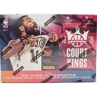 2018/19 Panini Court Kings (AU) Basketball 7-Pack Blaster Box