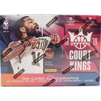 2018/19 Panini Court Kings Basketball 7-Pack Blaster Box