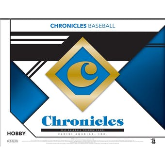 2019 Panini Chronicles Baseball Hobby Box (Presell)
