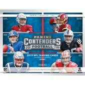 2019 Panini Contenders Football Hobby 12-Box Case (Presell)