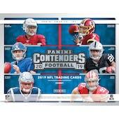 2019 Panini Contenders Football Hobby 12-Box Case (Presell)