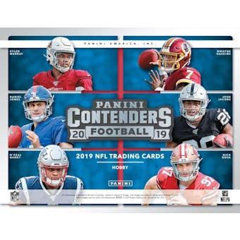 2019 Panini Contenders Football Hobby Box (Presell)