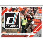 2019 Panini Donruss Football Hobby 18-Box Case (Presell)
