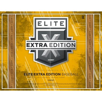 2019 Panini Elite Extra Edition Baseball Hobby Box (Presell)