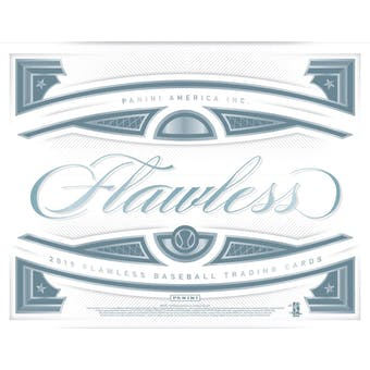 2019 Panini Flawless Baseball 2-Box Case- DACW Live 30 Spot Random Team Break #1