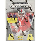 2019 Panini Prizm Draft Football 6-Pack Blaster Box